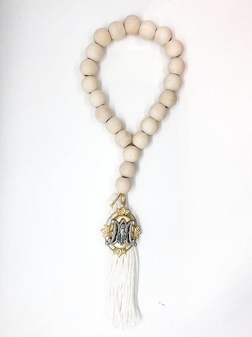 "Miraculous Mary ""M"" Large Medallion Door Hangers"