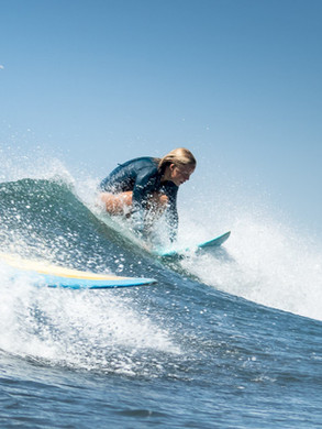 Surf lessons and board rental