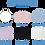 Thumbnail: Masque poly /coton HRMA000706