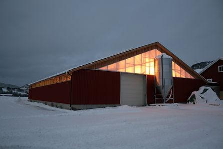 Kaldfjøs, stålkonstruksjoner, Meldal
