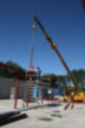 montering stålkonstruksjoner