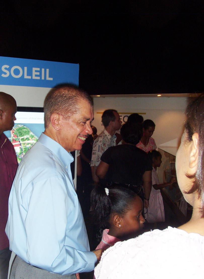 Président James Michel