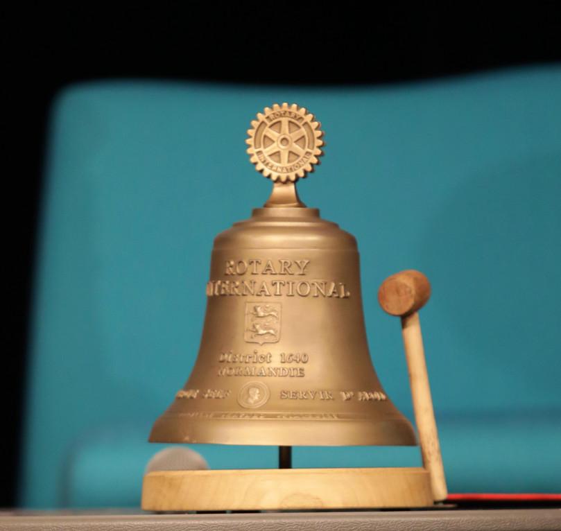 La cloche Rotarienne | The Rotary bell