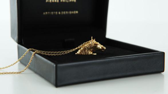 Le pendentif trophée | The trophy pendant
