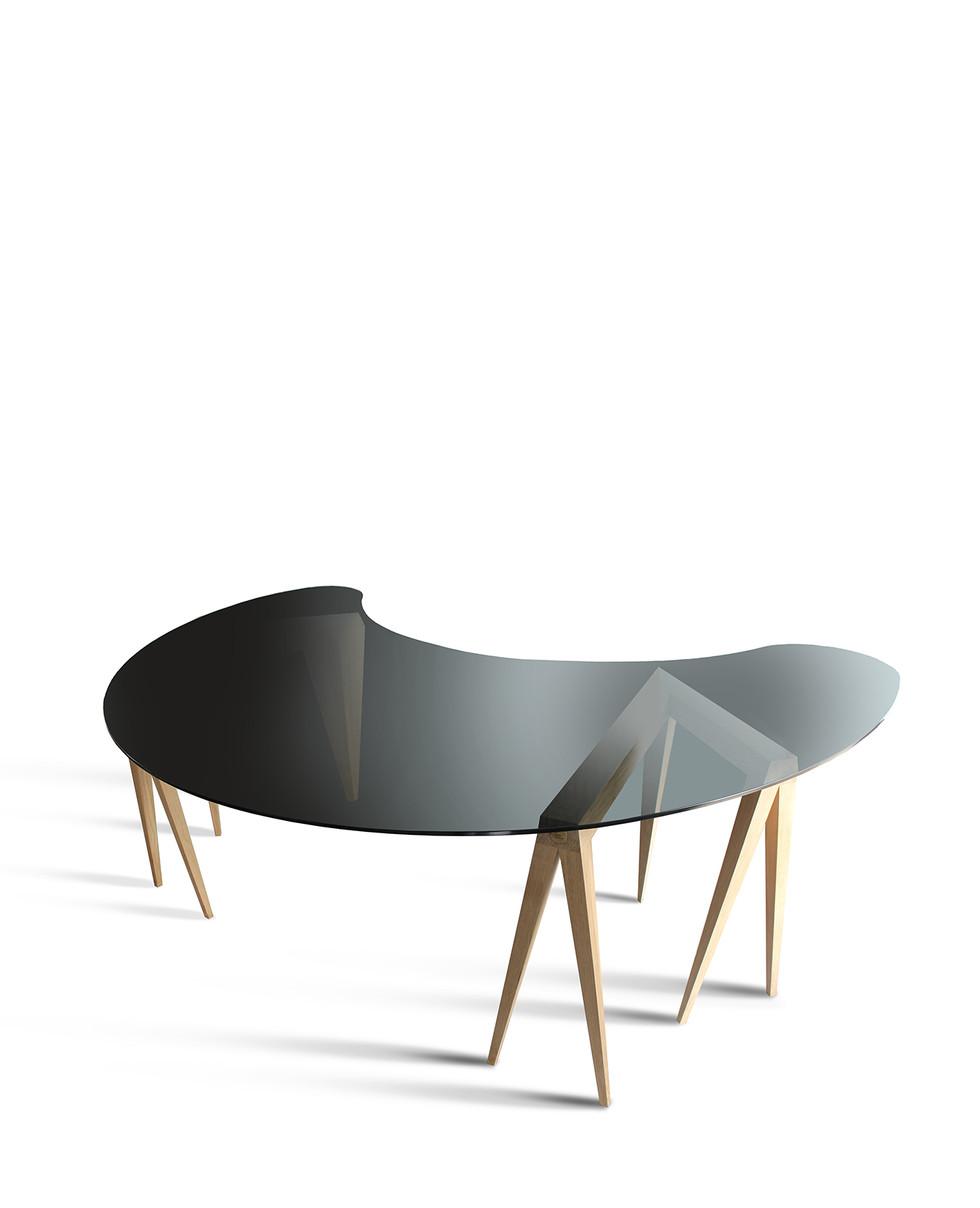 Le bureau demi-lune - Le Design Français