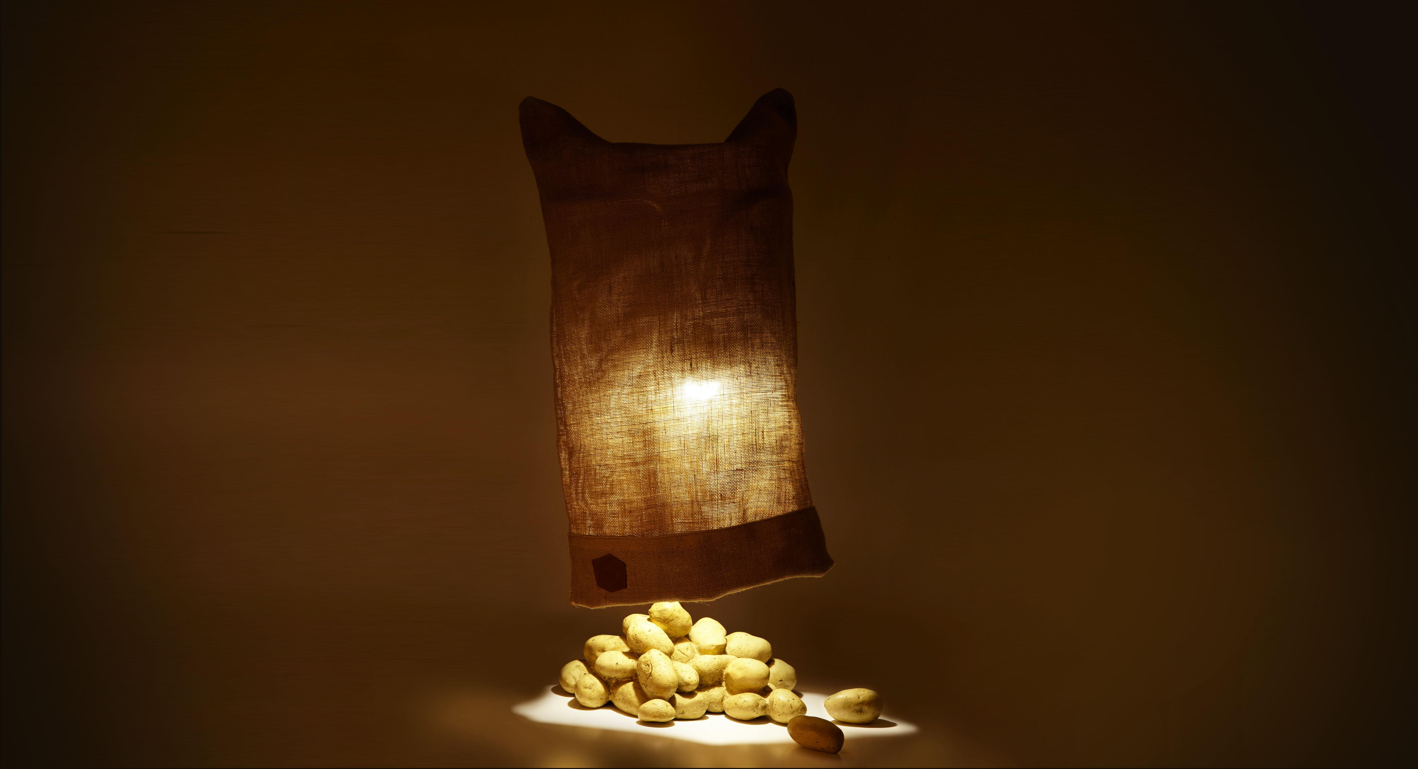 La lampe patate