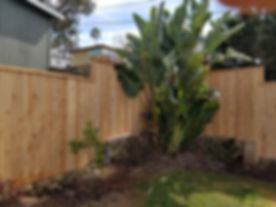 6' Cedar Fence On Retaining Wall.jpg