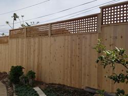 9' H Cedar Fence 2' Lattice.jpg