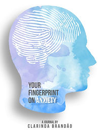 Your Fingerprint on Anxiety Journal