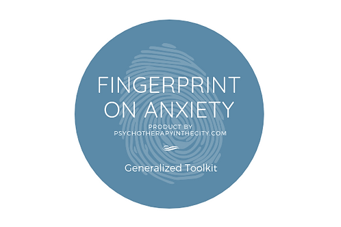 Fingerprint on Anxiety ToolKit
