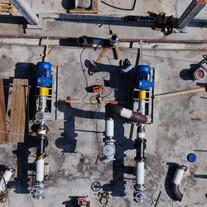 methanol pumping station