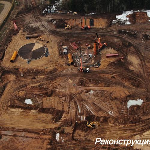 строительство резервуарного парка