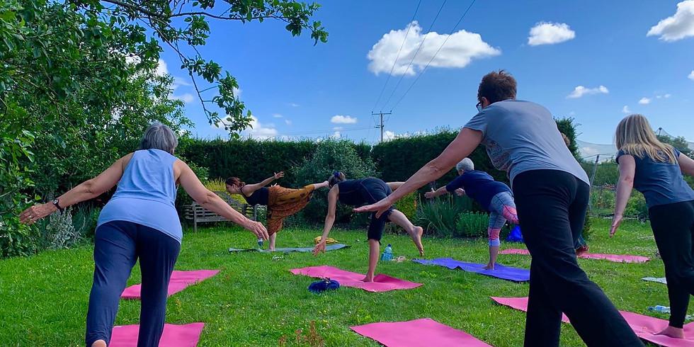 Dunton Family Yoga Day