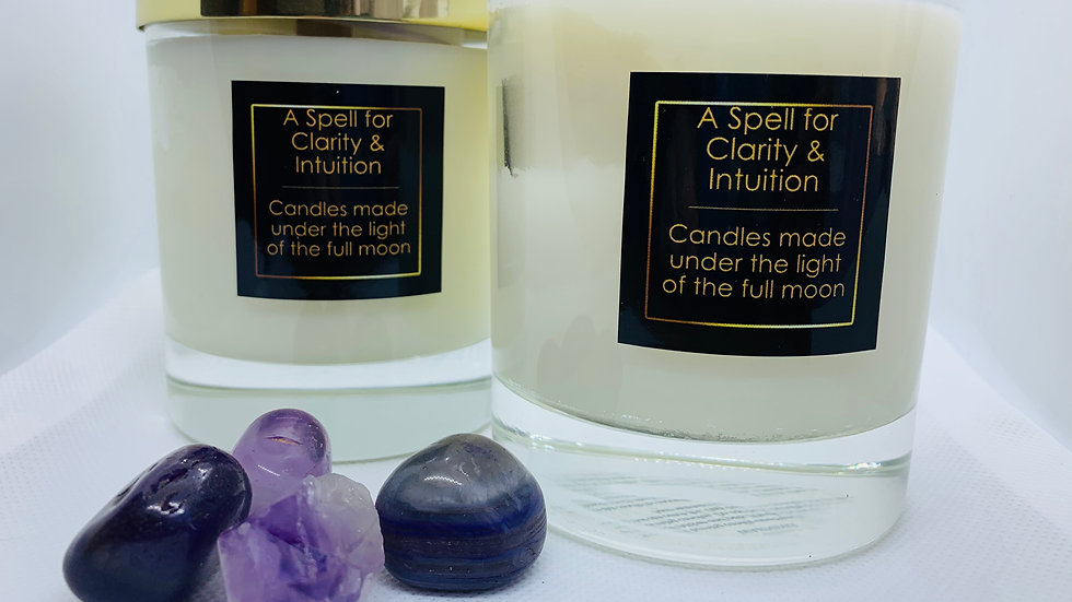 A Spell for Clarity & Intuition - Hand Poured Soy Wax Candle