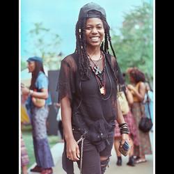 At #Afropunk last weekend