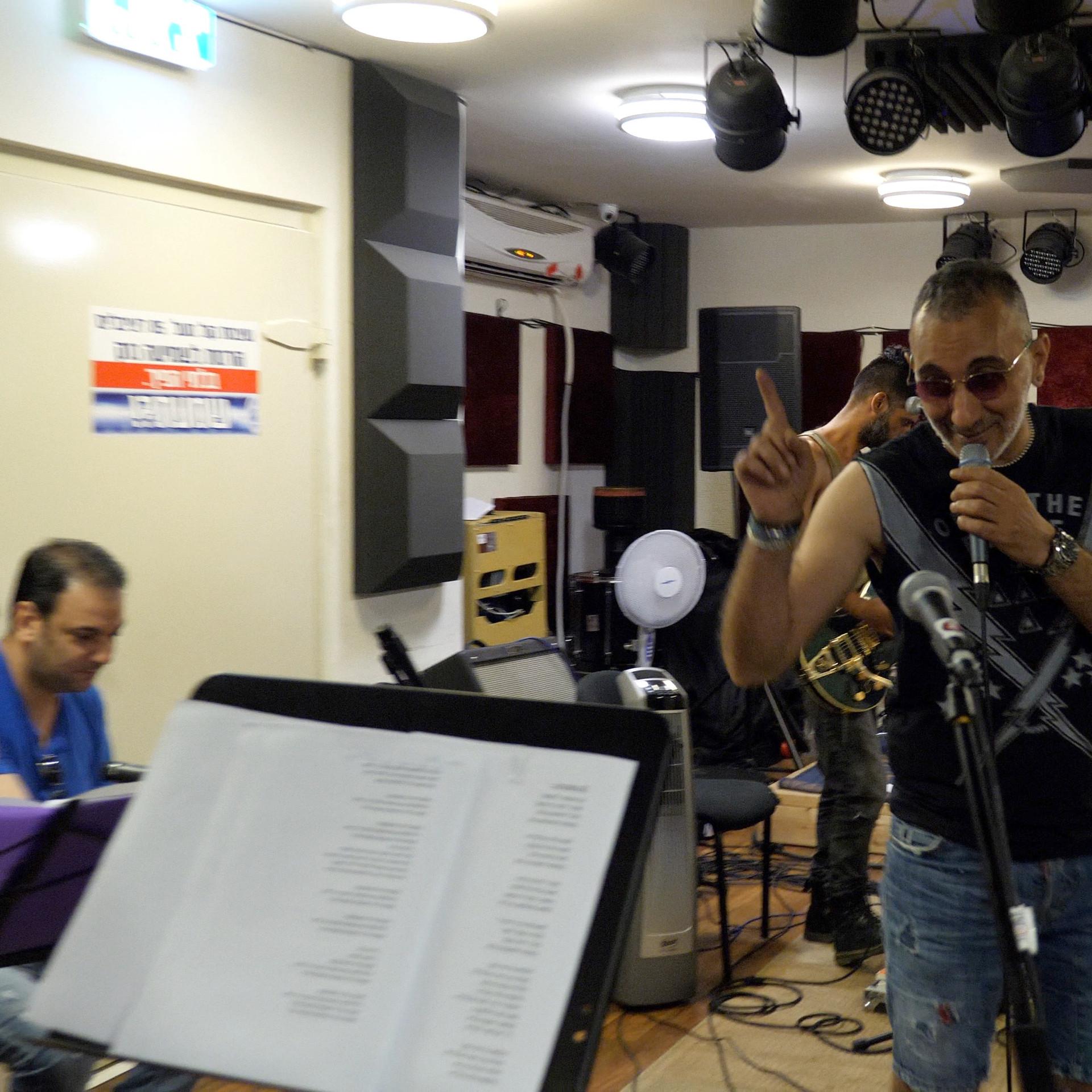חזרות אשדוד דאנס - שמעון בוסקילה