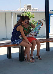 Tourist's using our maps