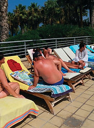 Holiday Makers using our map as a guide