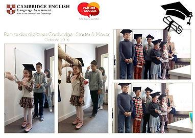 L'Atelier d'Anglais - Cambridge
