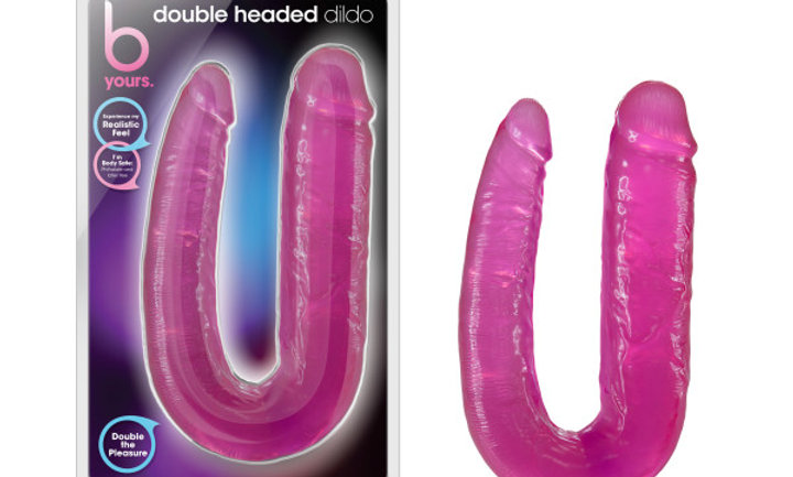 B Yours - Double Headed Dildo - Pink