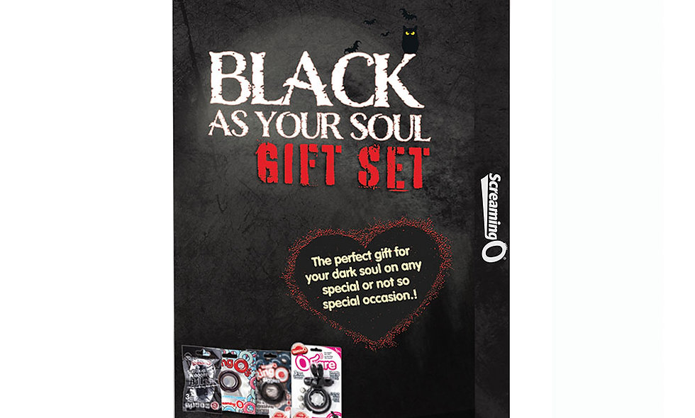 2019 Black as Your Soul Gift Set - Display