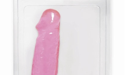 Basix Rubber Works - 6 Inch Dong With Suction Cup - Pink