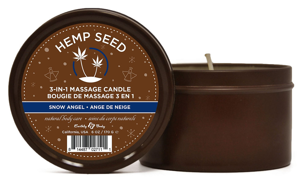 3-in-1 Massage Candle Snow Angel 6oz