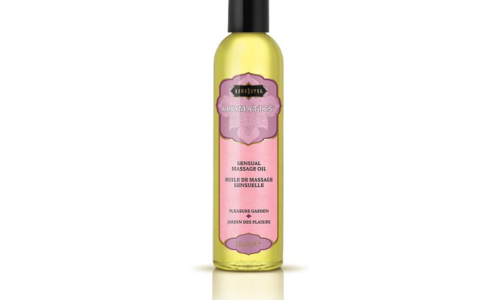 Aromatics Massage Oil - Pleasure Garden - 2 Fl Oz
