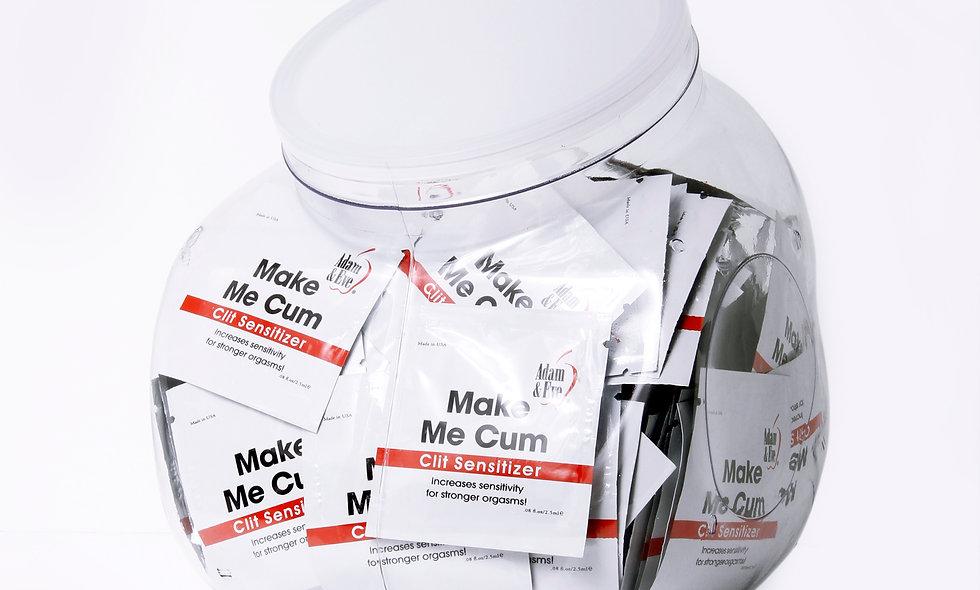 Adam and Eve Make Me Cum Clit Sensitizer  144 Count Bowl -2.5 ml 2.5 ml