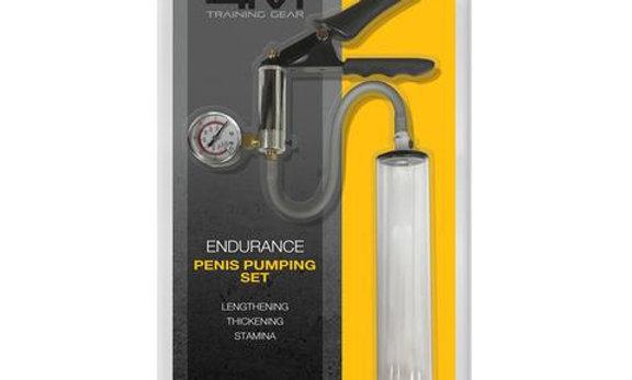 """4m Endurance Penis Pumping Set - 1.75"""" X 9"""""""