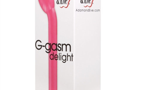 Adam and Eve G-Gasm Delight G-Spot Vibrator - Pink