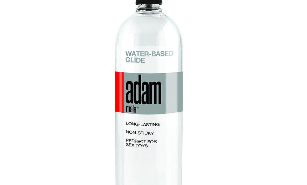 Adammale Water-Based Glide - 34 Fl. Oz./ 1005 ml