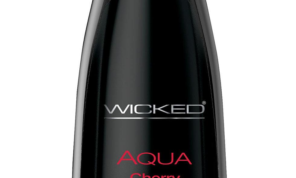 Aqua Cherry Water-Based Lubricant 4 Oz