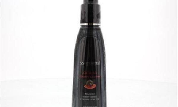 Aqua Cherry Cordial Water- Based Lubricant - 4 Oz.