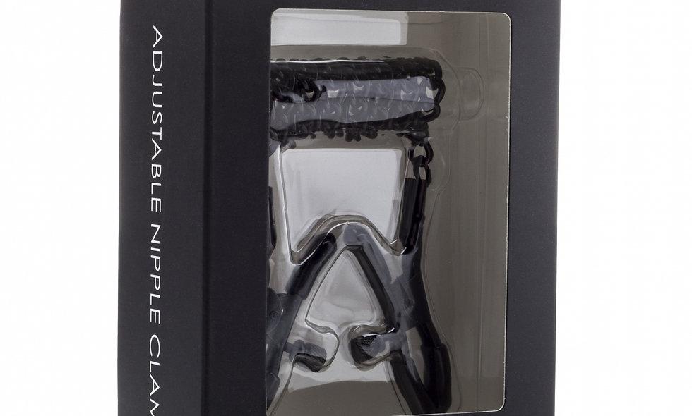 Adjustable Nipple Clamps - Black