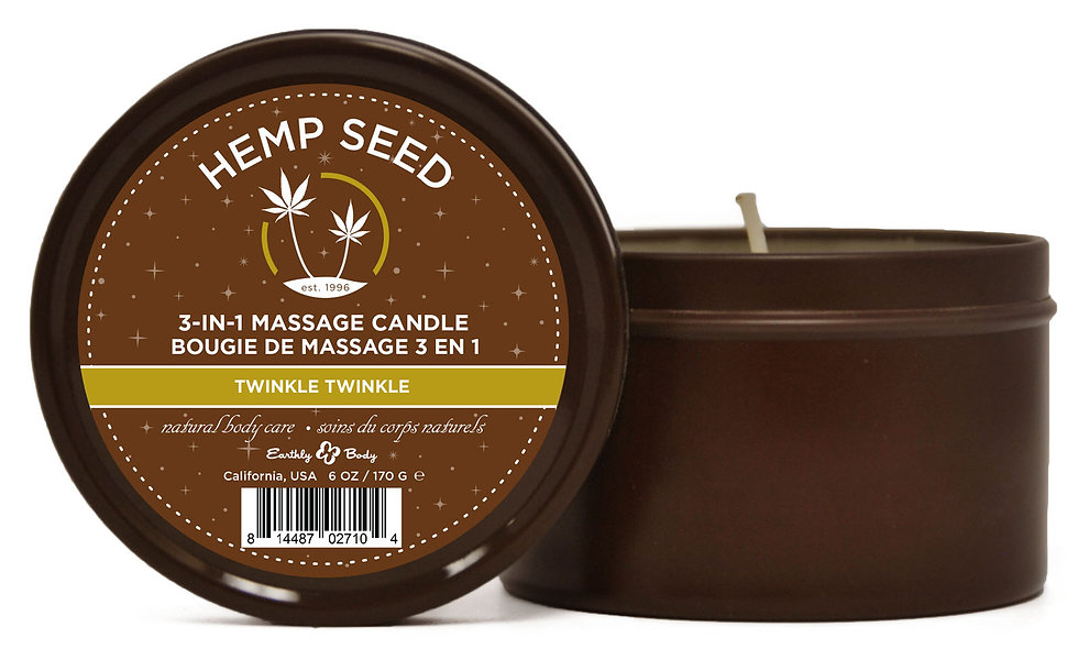 3-in-1 Massage Candle Twinkle Twinkle 6oz