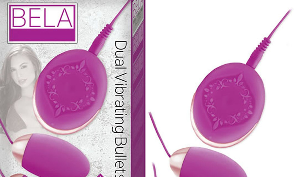 Bela Dual Vibrating Bullets - Purple