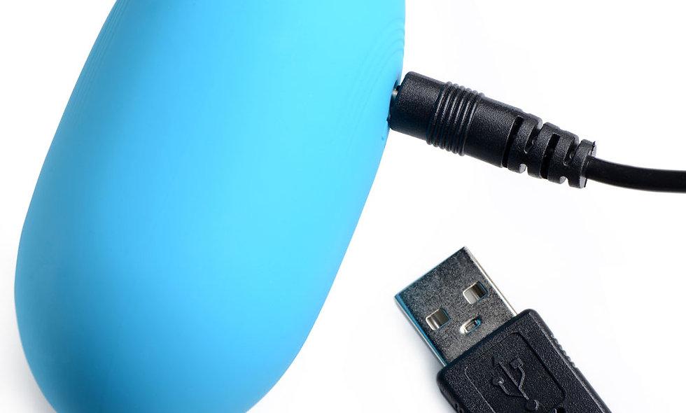 Bang XL Silicone Vibrating Egg - Blue