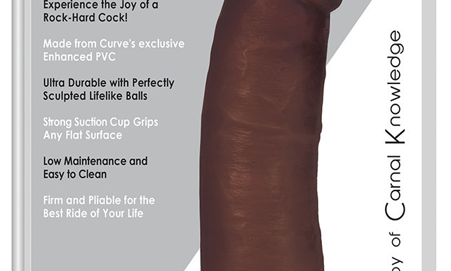 8 Inch Dong With Balls