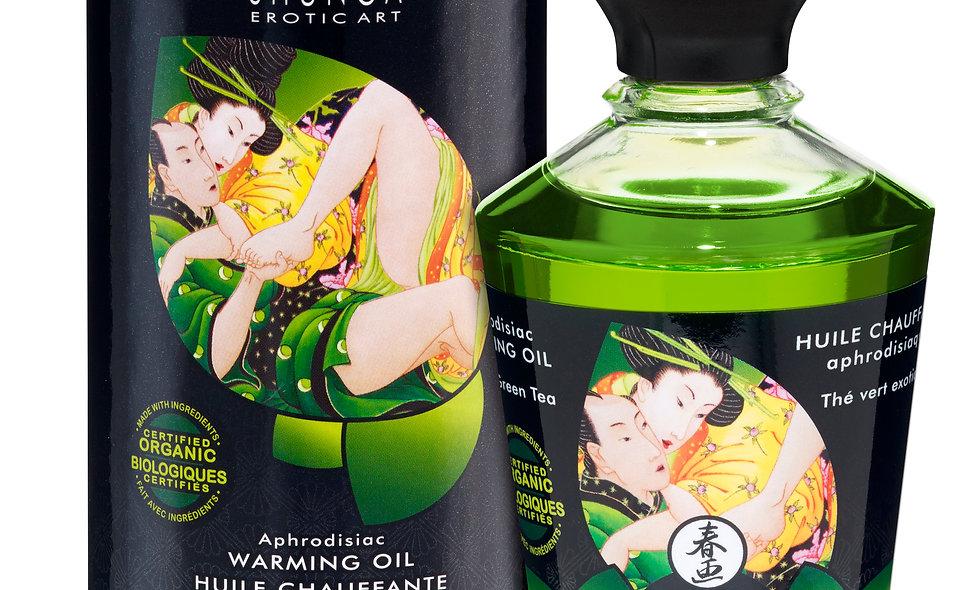 Aphrodisiac Warming Oil - Exotic Green Tea