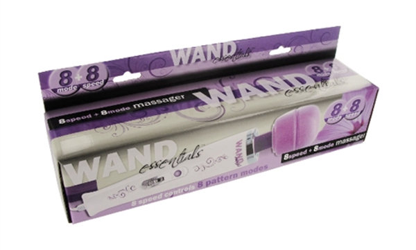 8 Speed 8 Function Wand 110v - Purple