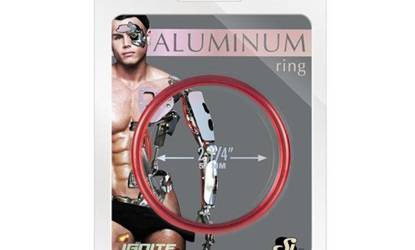 Aluminum Ring - Hellfire Red 2.25-Inch Diameter