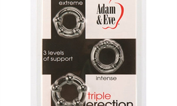 Adam and Eve Triple Erection System