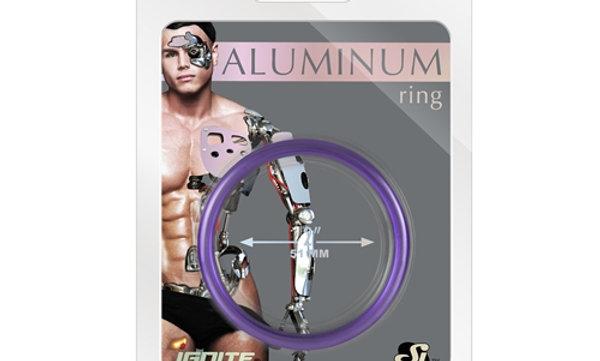 Aluminum Ring - Royal Purple - 2.00-Inch Diameter