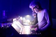 Our FOH engineer, Didier Lamaze  Notre ingénieur du son live, Didier Lamaze