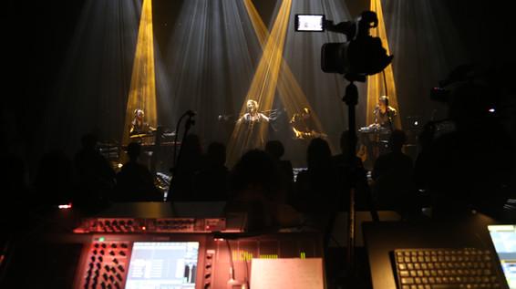 Recording the showcase (Last Dance)  Enregistrement du showcase (Last Dance)