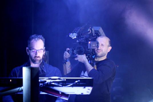 David filmed during a rehearsal by Sébastien Rossi, our filmmaker  David, filmé pendant une répétition par Sébastien Rossi, notre réal vidéo