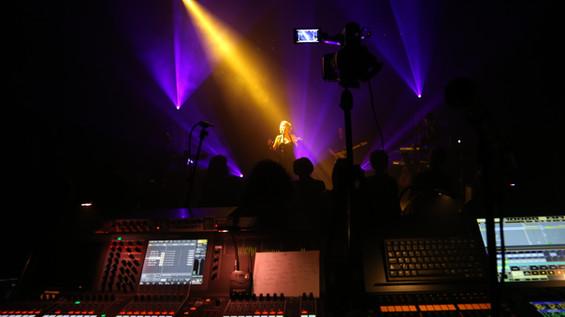 Recording the showcase (Sweetie)  Enregistrement du showcase (Sweetie)