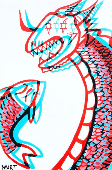 Dragon & Koi pt 2