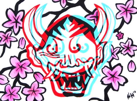 Cherry Blossom Mask